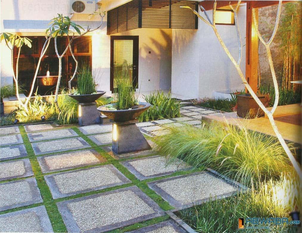 Memilih Batu Alam Untuk Desain Taman Minimalis