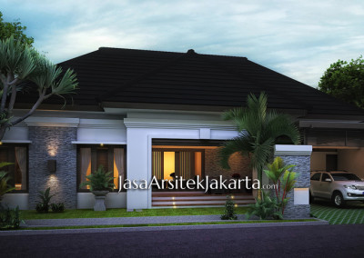 The house area of 240 m2 Bp Roy Andrianto