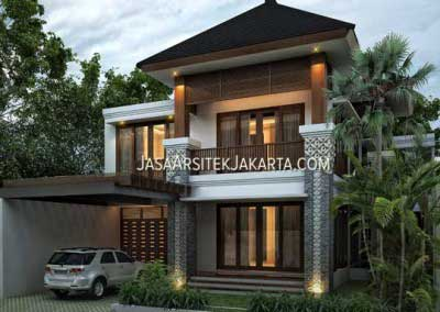 Design House area of ​​450 m2 owned by Mrs. Devi Batam
