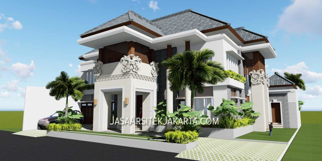 Architectural services for a luxury house with an area of 570 m2