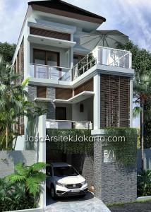 Desain-rumah-lebar-5,5m-namun-elegan-gaya-balinese-tropical