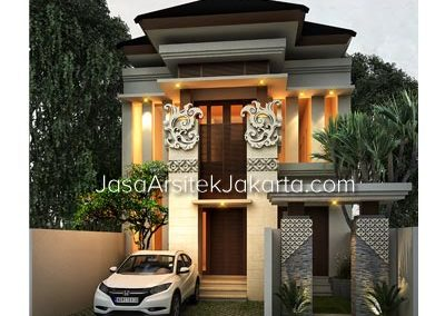 House Design 2 Floor Building Size 193 m2 Bp Jacob in Jakarta