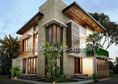 House Design 2 Floor Building Size 200 m2 Bp PraJakarta yoga