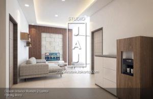 Desain Interior Bapak Eko di Bandung Ruang Keluarga