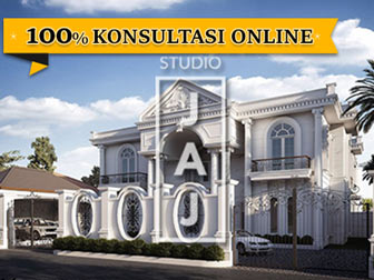 Design a 1500 Mediterranean Luxury Classic House area of ​​Tanjung Selor, Kalimantan