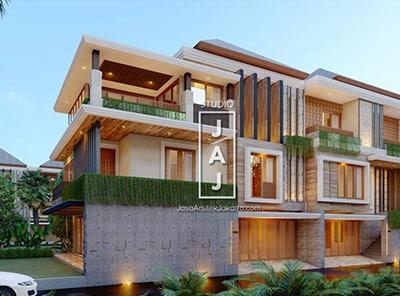 Desain Rumah Tinggal 450m2 Di Pondok Pinang, Jakarta Selatan