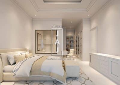 Desain Rumah 2 Lantai 250m2 Ibu Adinda di Jakarta Timur 01