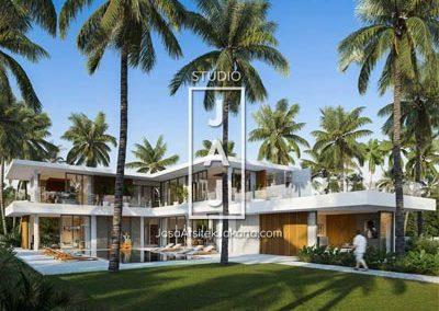 """Desain """"Vadim Private Residence"""" 2 Lantai 753m2 Lodtunduh, Ubud"""