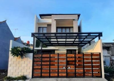 House Design 2 Floor Building Size 175 m2 Bp Dimas in Jakarta